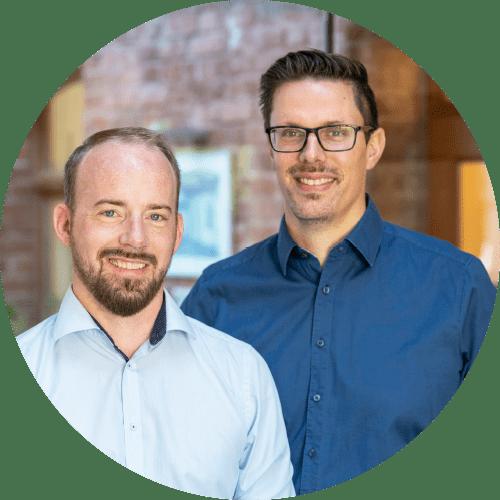 Michael Schmidt und David Weiland