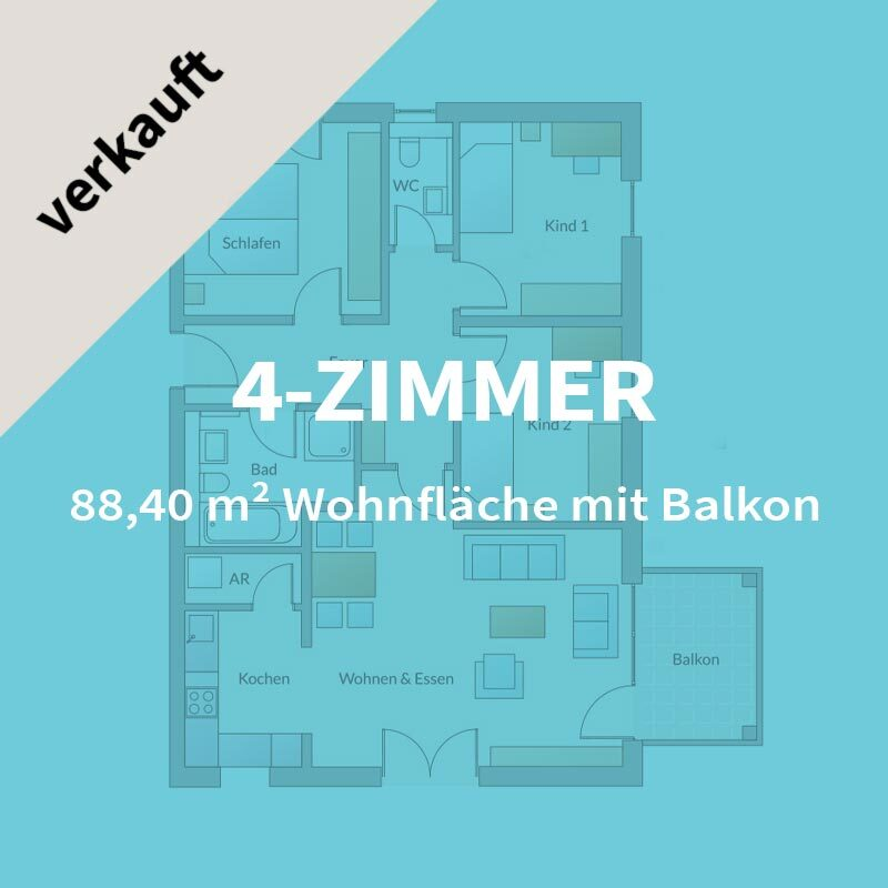4-Zimmer-Wohnung Neubau Wohnung Nürnberg | Röthenbach | BERGER GRUPPE